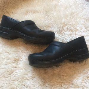 Black Dansko clogs